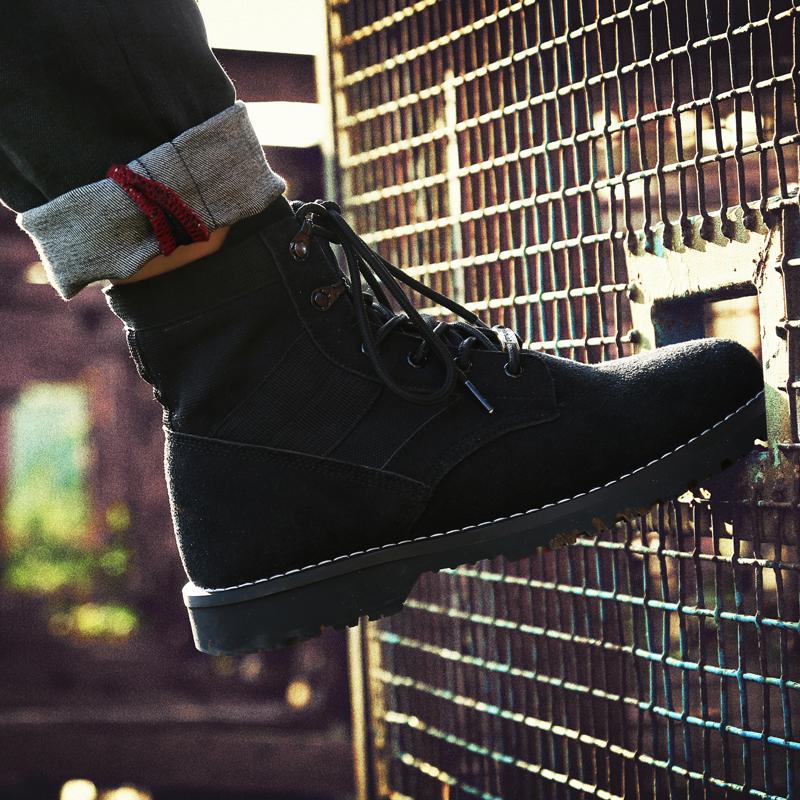 帆布靴大码