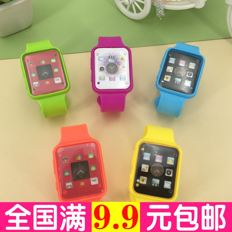 children's watch toy simulation multi-color cartoon baby early childhood education puzzle watch watch children watch boys and girls children's toys electronic silicone watch personalized birthday gift