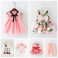 0-4岁女童连衣裙1女宝宝夏装背心裙2婴儿童装公主裙子3小童吊带裙