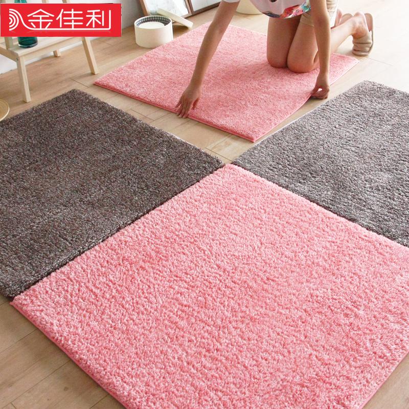 环保地毯拼接