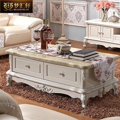 欧式大理石电视柜茶几组合客厅小户型简约地柜白色简欧电视柜组合性价比高吗