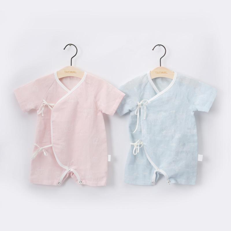 婴儿纱布衣套装