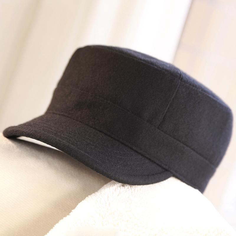 秋冬季新款女士大头码平顶海军帽小辣椒同款潮羊毛尼鸭舌棒球帽子3元优惠券
