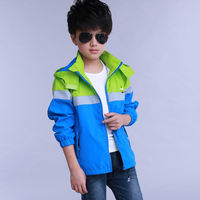 Zhongda Children's Wear Boy Outdoor Jacket 2019 Spring and Autumn New Children's Jacket Breathable Jacket Men's Windbreaker