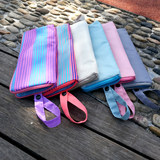 Umbrella Sheath Waterproof Receiving Bag Towel Fabric Absorbing Umbrella Bag 6 Colors Long 28 cm