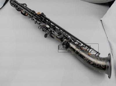 高音薩克斯管/風 降B調 高音彎管薩克斯 珍珠黑可貨到付款最新報價