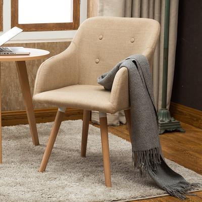 北欧椅子现代简约实木餐椅单人家用休闲沙发椅凳子靠背电脑书桌椅优惠券