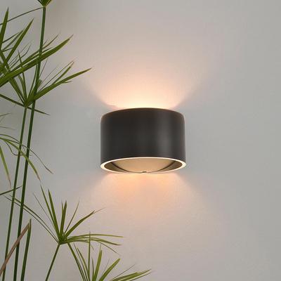 创意个性简约现代墙灯卧室床头阅读灯过道ins宜家圆柱型北欧壁灯