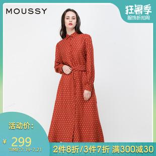 女010BSS30-0470MOUSSY系带束腰春夏新品