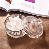 Buy a nordic glass candy can jewelry box candy can toothpick box fruit bowl dried fruit tea can