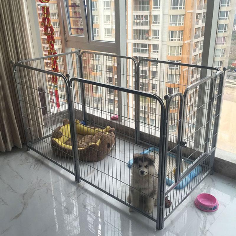 狗狗围栏小型犬狗栏围栏宠物围栏狗栅栏中型犬泰迪狗笼子l-大型犬