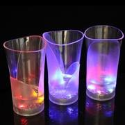 Creative pouring water bright color girl heart cup induction couple glowing cup to send lovers girlfriend birthday gift