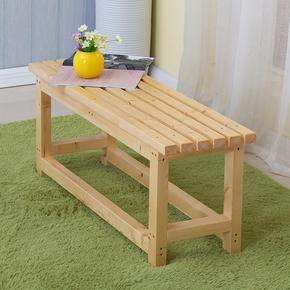 实木凳子床尾凳长凳家居换鞋凳 欧式小板凳田园矮凳换鞋方凳圆凳