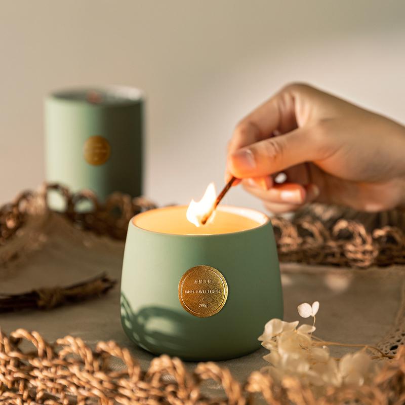 摩登主妇安神助眠香薰蜡烛,送艺术品的男女朋友礼物