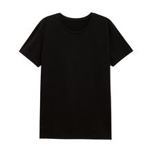 美特斯邦威T恤男2018秋季新款合体弹力圆领基础短袖T恤图片