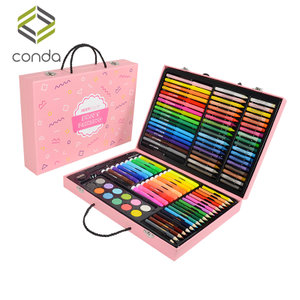 康大儿童画笔套装礼盒画画工具彩笔美术文具绘画学习用品生日礼物