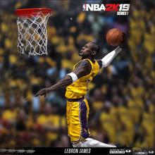 2k19詹姆斯珍藏版篮球架模型人偶公仔手办 麦克法兰NBA篮球明星图片