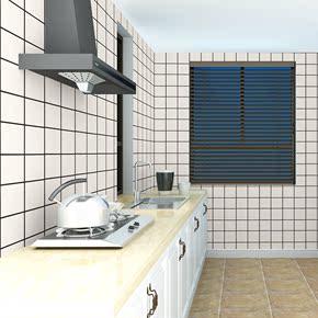 厨房防油贴纸灶柜台用耐高温墙贴浴室卫生间墙纸自粘壁纸防水橱柜