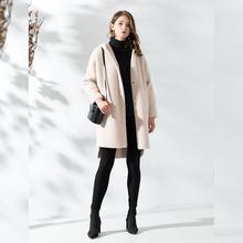 大衣外套毛衣女8907 长袖 针织开衫 羊毛衫 女装 keshimier 宽松中长款图片