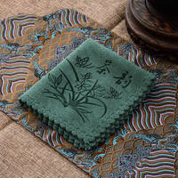 Tea towel tea towel cloth absorbent towel fabric tea mat pot towel absorbent thickening tea set cloth Kung Fu tea accessories tea cloth