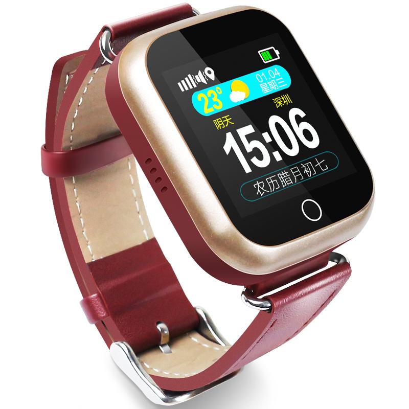 老人定位手表电话智能手机手环防水老人痴呆gps防丢测血压心率防走失专用追踪器