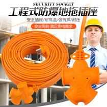 32a大万用机架式接线板工业级大功率16a口位15电源机柜排插座