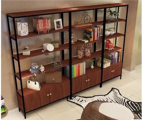 陈列柜展柜组合样品柜置物架办公展示架货柜实木货架家用定做
