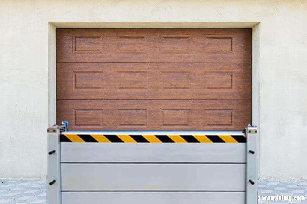 厂家订做铝合金防汛挡水板不锈钢防洪挡板地下车库出入口防水挡板