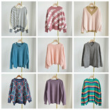 Pregnant women sweater spring and autumn knitting base sweater autumn and winter style