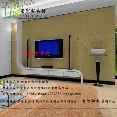 烤漆弧形电视柜哪里便宜