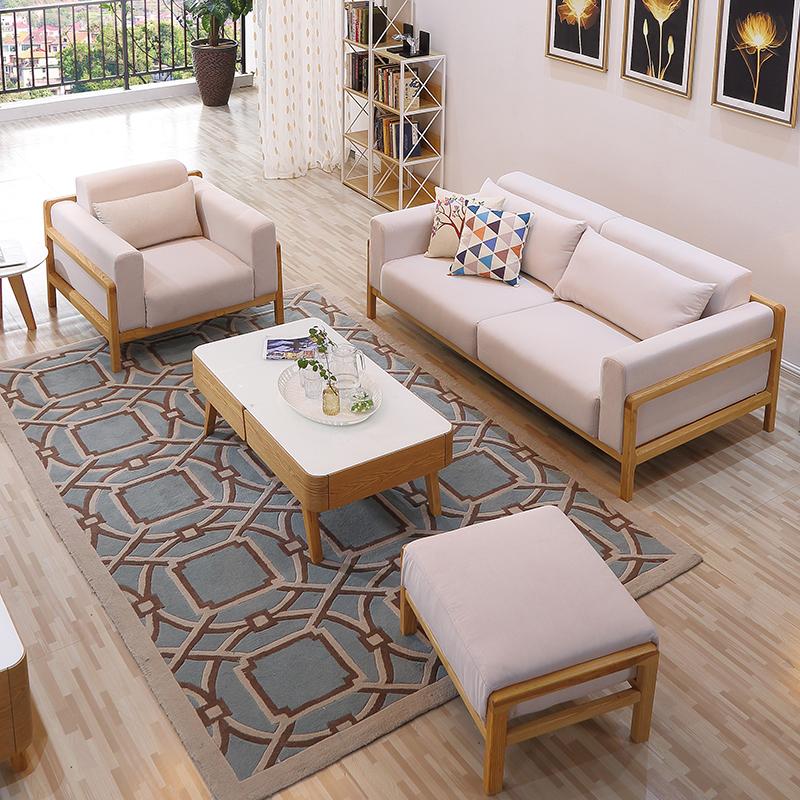新中式沙发现代可拆洗
