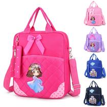 手提书包A4书袋补习袋手提袋帆布学生手提拎书袋补课包美术袋补课