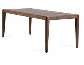 传世风格饭桌现代中式全实木黑胡桃木餐桌北欧简约书桌全实木桌子