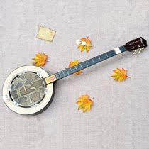 秦琴乐器正品蟒蛇皮弹拨三弦专业演奏梅花琴戏剧伴奏民族三玄琴