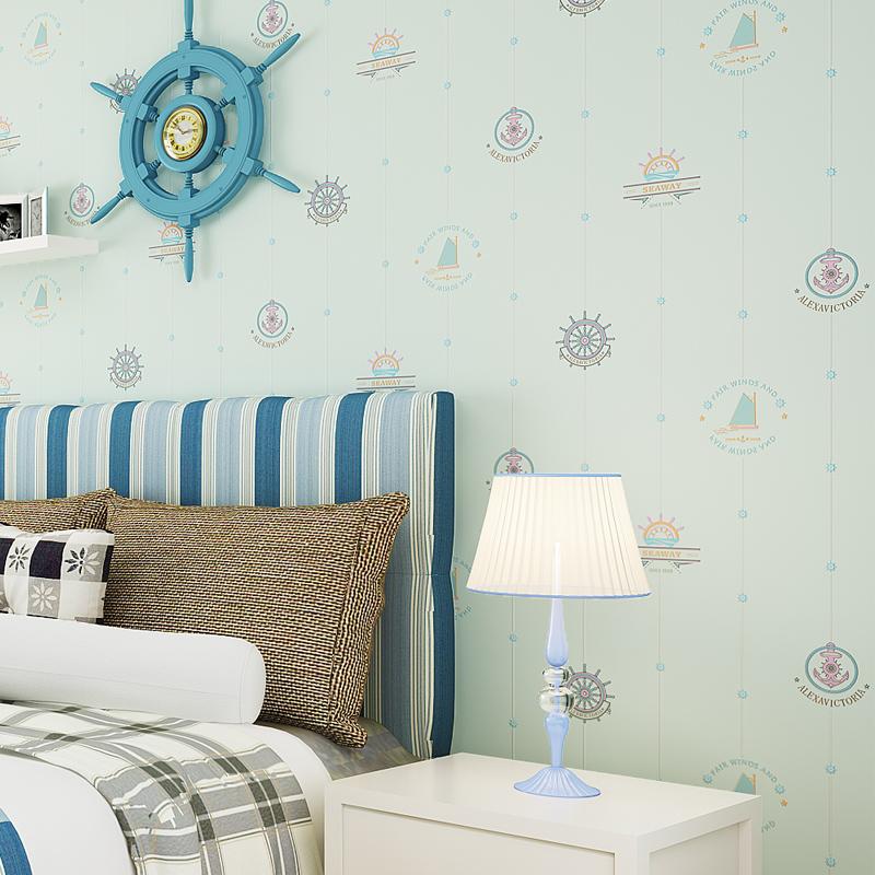 儿童墙纸英伦风格