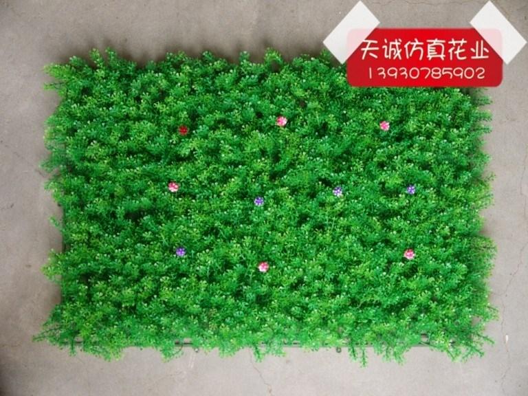 仿真草坪加密 批发仿真花人造草皮塑料假草坪草皮水草加厚40*60
