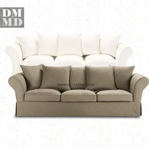 ROMA北欧现代欧式美式3人位全拆洗布艺三人沙发