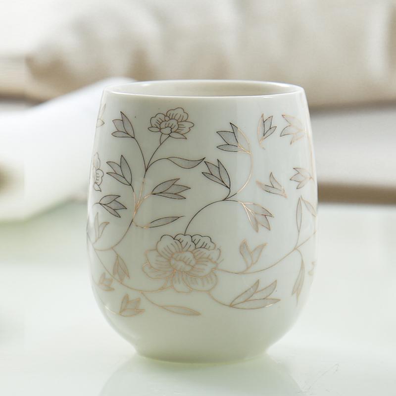 办公杯陶瓷隔热