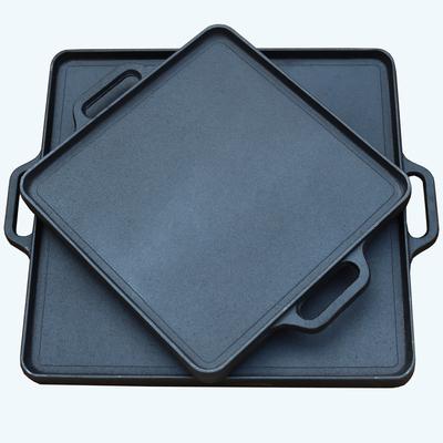方形铸铁平底锅