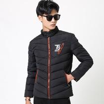 男士棉衣2018新款冬季棉服立领修身个性潮保暖短款外套