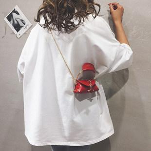 迷你小包包女包新款2019个性百搭手提小包链条单肩斜挎口红零钱包
