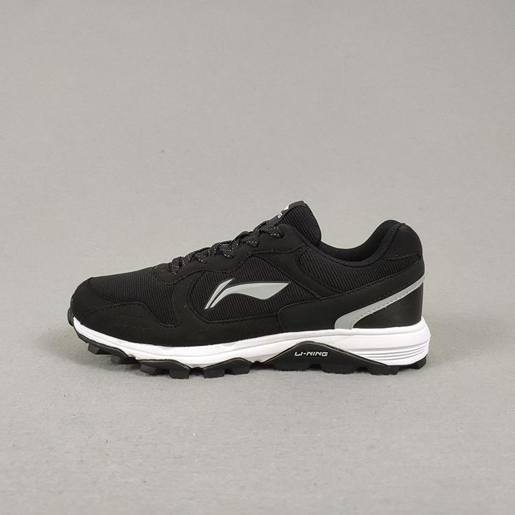 李宁跑步鞋女鞋高达耐磨防滑越野户外登山鞋春季运动鞋ARDL004
