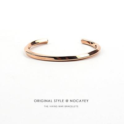 欧美潮牌手镯男女简约个性手环情侣光面菱形钛钢手镯学生手链饰品哪个品牌好