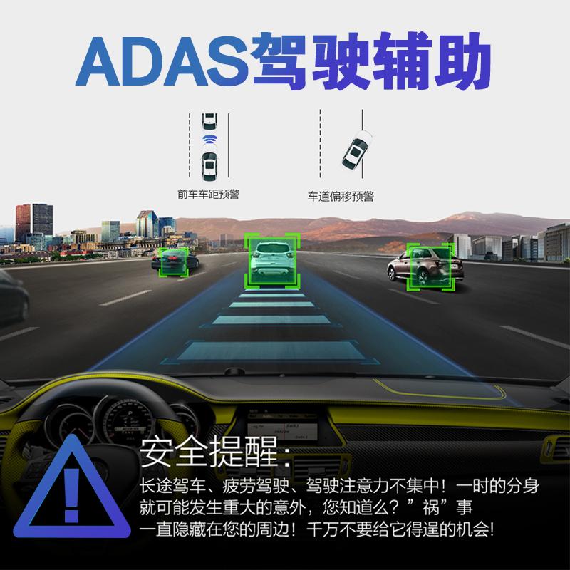 星光夜视高清usb行车记录仪安卓大屏导航专用记录仪摄像头ADAS
