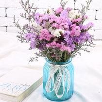 勿忘我带花瓶干花花束花瓶饰品客厅家居摆设插花摆件饰懒