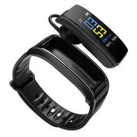 手腕蓝牙耳机 智能手环二合一分离式多功能通话运动手表心率男女图片