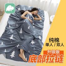 超轻便携酒店隔脏卫生睡袋大人用品双人单人室内宾馆床单