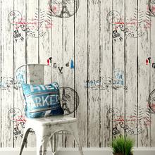 防水墙纸学生宿舍自粘3d北欧卧室防潮男卧室家用客厅改造复古壁纸
