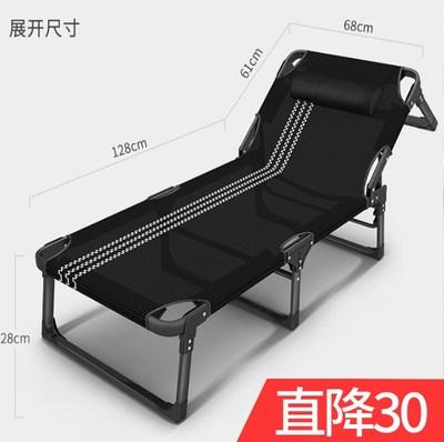 躺椅折疊午休單人午睡床多功能成人家用懶人可調節午休墊子棉墊網友購買經歷