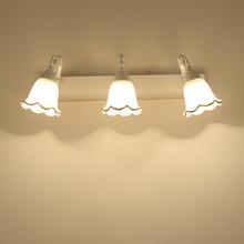 欧式镜前灯卫生间浴室镜前灯led复古镜灯浴室镜灯防雾包邮白色